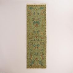 Kitchen Hand-Knotted Wool Kira Area Rug | World Market