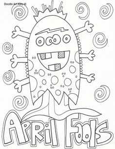 April Fool S Day Coloring Sheets April Earth Day Arbor Day Religious Day Coloring Sheets