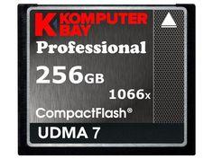 Komputerbay 256GB Professional Compact Flash card 1066X CF write 155MB/s read 160MB/s Extreme Speed UDMA 7 RAW