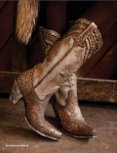 Boots - Lane/dd Glitter Gulch Boots