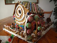 Real Gingerbread Houses