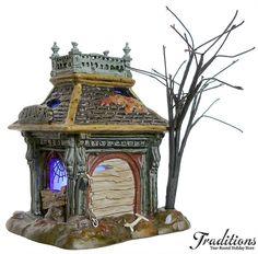 Department 56 Halloween Village--Killer's Dog House