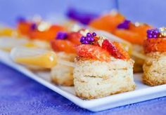 Sweet treats from WP Catering #weddingwednesday via @Brides of North Texas!