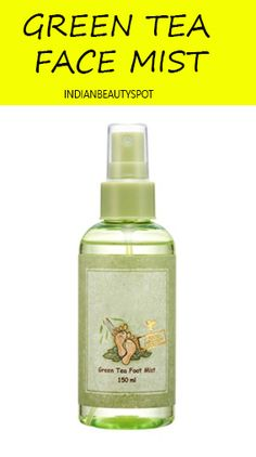 Green Tea Toner: Boil 4tsp green tea in 1 cup of water and leave it aside to cool. Pour the green tea in a bottle and add a few drops of essential oil to it, tea tree oil is great for acne prone skin. Keep the homemade toner in the fridge for later use.