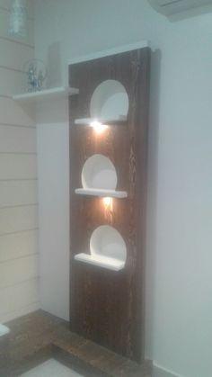 Karan jangid Art Niche, Living Room Partition, Tv Unit Design, Wood Work, Kitchen Design, Ss, Wall Lights, Woodworking, Shelves