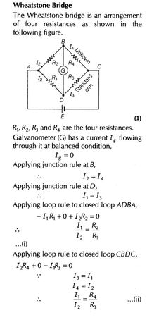 Current Electricity Important Questions for CBSE Class 12 Physics Kirchhoff's Laws and Electric Devices Computer Engineering, Electronic Engineering, Electrical Engineering, Computer Science, Mechatronics Engineering, Learn Physics, Physics And Mathematics, Physical Science, Science Education