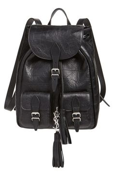 Saint Laurent Small Calfskin Backpack Only $1550.00   On Sale Now