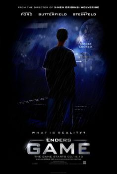 "Enders Game. Say it with me, producers, ""I will not screw this up."" Say it with me fans, ""we will riot if they screw this up."""
