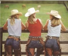 real cowgirl | Who doesn't want to be a cowgirl? Get real.