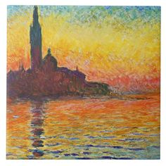 San Giorgio Maggiore At Dusk is part of San Giorgio Maggiore At Dusk Wikipedia We can offer Claude Monet San Giorgio Maggiore At Dusk Oil Painting on canvas, Framed art, Wall Art, Gallery Wrap and S - Famous Impressionist Paintings, Monet Paintings, Impressionist Art, Artwork Paintings, Painting Art, Claude Monet, Thomas Crown, Saint Georges, Images Vintage