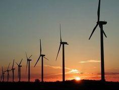 El nuevo parque eólico de Rawson