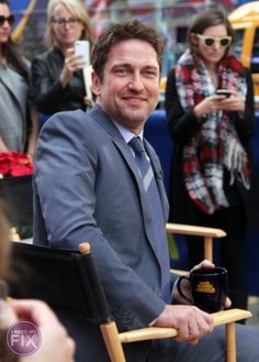 Gerard Butler Says Good Morning America, Plays for Keeps