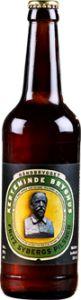 """FRITZ SYBERGS PILSNER 5,0% vol. / er en undergæret øl brygget på tre malttyper, en humletype, gær og vand.  Ingen tilsætningsstoffer. Ufiltreret og upasteuriseret.  """"Giv mig en bajer… jeg vil berømme det ravgule Øl fra Fad."""" Linjerne stammer fra Johannes V. Jensens digt """"Ved Frokosten"""" fra 1906. Linjerne """"gendigtede"""" vennen Fritz Syberg i et mesterligt maleri med samme titel. Busten af maleren Fritz Syberg (etiket forside) er skabt af Johannes V. Jensen.  Øllet er karakteriseret ved en…"""