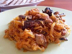 Bigos - polish national dish of sauerkraut