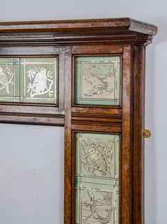 Antique-Arts-Crafts-wooden-fire-surround_86682_3.jpg (671×900)