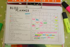 Free Blog Planner Printable