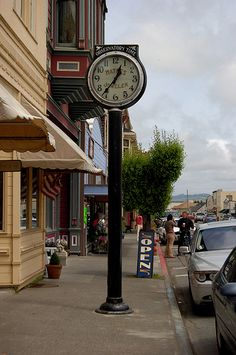 Ferndale, California main street