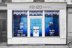 Kenzo store in Paris