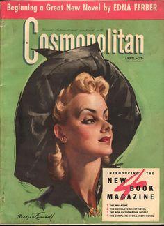 Cosmopolitan magazine APRIL 1941 Artist: Bradshaw Crandell