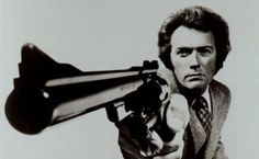 A cell  byCinematographer Bruce Surtees, Clint Eastwood, as Dirty Harry, BAD TO THE BONE
