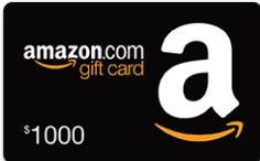 Win $1000 Amazon Gift Card!