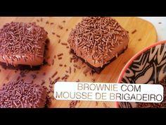 Brownie com Mousse de Brigadeiro - Confissões de uma Doceira Amadora - YouTube