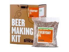 Brooklyn Brew Shop Beer Making Kit, Everyday IPA This is a great gift for the home-brewer. The kit is an excellent way to jump right in by making it yourself. Beer Making Kits, Wine Making, Brooklyn Beer, Brew Shop, Beer Brewing Kits, Homemade Beer, Homemade Gifts, Brew Your Own, Brewing Equipment