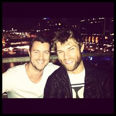 Dan Feuerriegel & Liam McIntyre. Can I have them both???