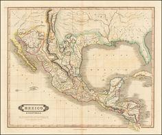 Lizars-1828-Mexico & Guatimala