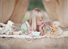 Photo by Rachel Absher Photography:  tea party photo session