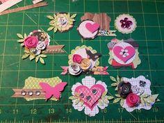 Handmade embellishments More