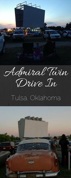 During your trip down Route 66, make sure to stop at the Admiral Twin Drive In in Tulsa! This historic drive in caters to crowds of movie goers for an experience that will take you back in time!