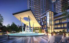 Kết quả hình ảnh cho condominium entrance design