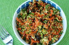 The Sweets Life: Shredded Vegetable Detox Salad