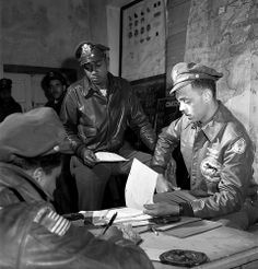 "In March 1945, Toni Frissell took more than 280 photographs of the ""Tuskegee Airmen,"" the elite, all-African American 332nd Fighter Group at Ramitelli, Italy"