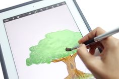 Sensu brush * i don't even have an ipad, but i'm drooling over this! * we live in an amazing world, i tell you