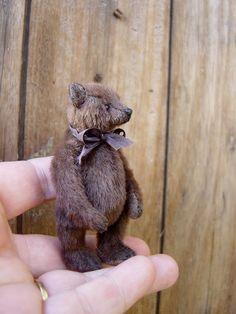 """Itzy, 3"""" Bear from Aerlinn Bears"""
