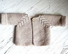 Norwegian Fir, Top down cardigan
