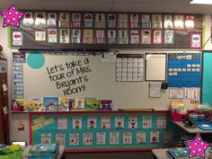 A Traveled Teacher: Classroom Reveal - great 2nd grade classroom organization!