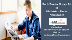 Get Hindustan Times Tender Notice Classified Ad Tariff, Rate Card and Discounted Packages. Booking Tender Notice Advertisement in Hindustan Times Newspaper is simpler, easy, cost effective and secure through online. Online Advertising, Advertising Agency, Times Newspaper, Newspaper Advertisement, Good People, Ads, Education, Books, Livros