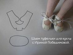 divers modèles de chaussures / poupées (tutoriel gratuit - DIY)
