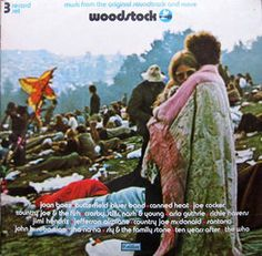 WOODSTOCK-  I've actually seen a recent interview with the couple wrapped up on this cover.  They're still together and still awesome as hell.  ;)
