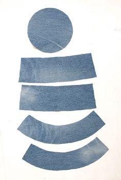Free pattern: denim reversible bucket hat