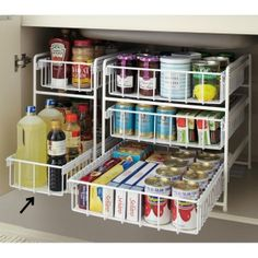 40 Ideas for kitchen cabinets organization food – Kitchen Cupboard Kitchen Cupboard Organization, Kitchen Cabinets Decor, Cabinet Decor, Kitchen Redo, Kitchen Storage, Home Organization, Pantry Storage, Kitchen Ideas, Cupboard Ideas