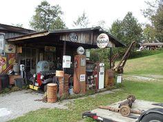 Old gas station  Franklin, NY