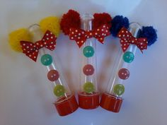 Tubete Circo Circus Crafts, Carnival Crafts, Circus Carnival Party, Circus Theme Party, Carnival Themes, Party Themes, Clowns For Birthday Parties, Dinosaur Birthday Party, Circus Birthday