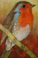 Paneel - Loes Botman pastels, pastelkrijt tekeningen