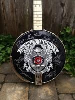 Deering Dropkick Murphys Tenor banjo...signed by each member of the band and being auctioned for a good cause right now!