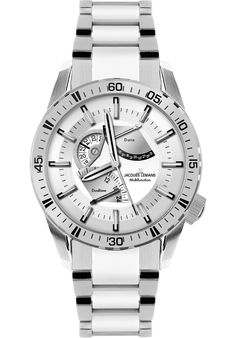 (Limited Supply) Click Image Above: Jacques Lemans Men's Liverpool Gmt High Tech Ceramic Stainless Steel Watch Rolex Watches, Watches For Men, Wrist Watches, Sporty Watch, High Pictures, Stainless Steel Watch, Le Mans, Liverpool, Quartz