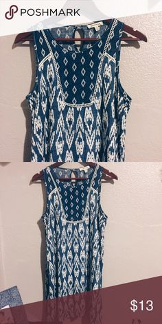 Printed Shift Dress Super cute! Only worn twice. Perfect condition! Size XS, but I'm a S/M and it's fits me well Dresses